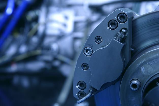Potente macchina per auto industriali