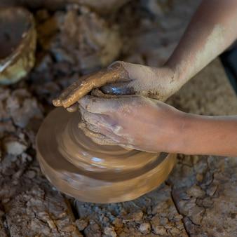 Potter al lavoro, marocco