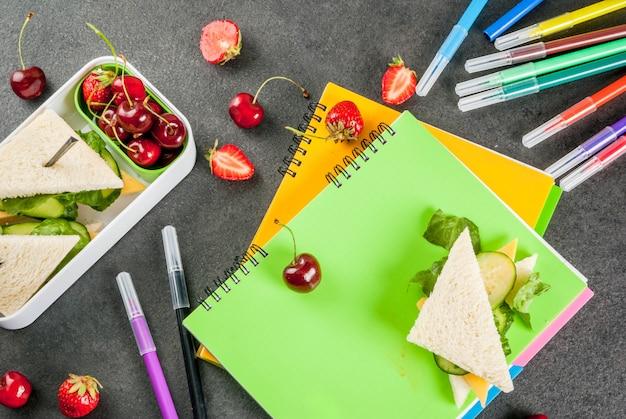 Pranzo scolastico sano