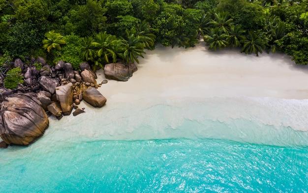 Praslin, sfondo delle seychelles
