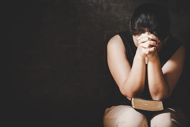 Preghiera di crisi di vita cristiana a dio.