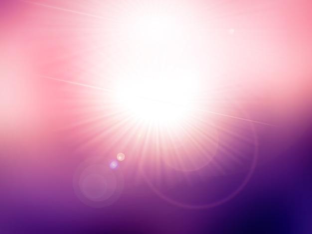 Premessa di fondo con esplosioni di luce
