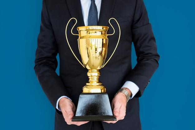 Premio del trofeo della holding dell'uomo di affari