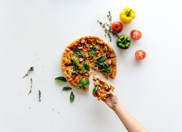 Prendi una fetta di pizza