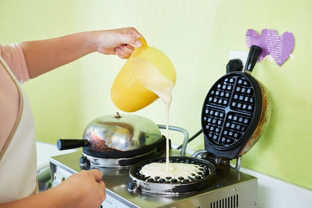Preparare i waffle