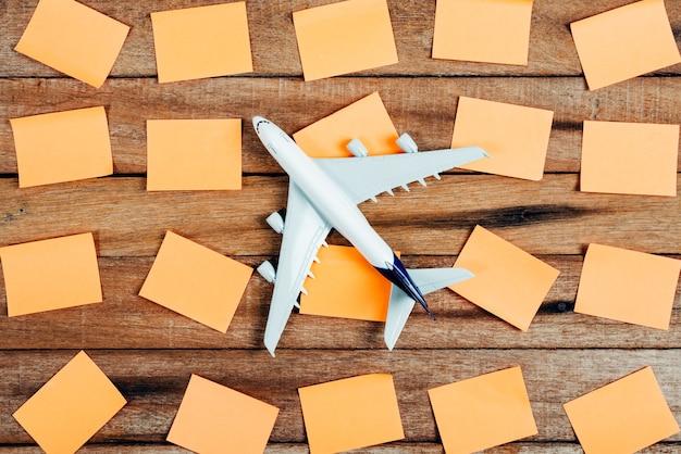 Preparazione per il concetto di viaggio