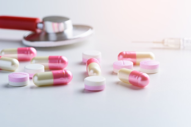 Prescrizione medica, stetoscopio di medicina