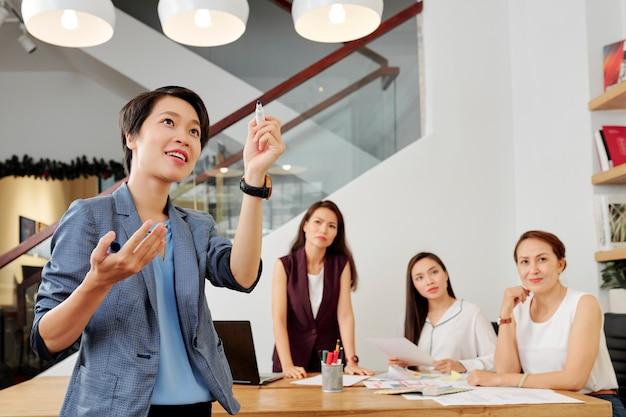 Presentazione aziendale in ufficio