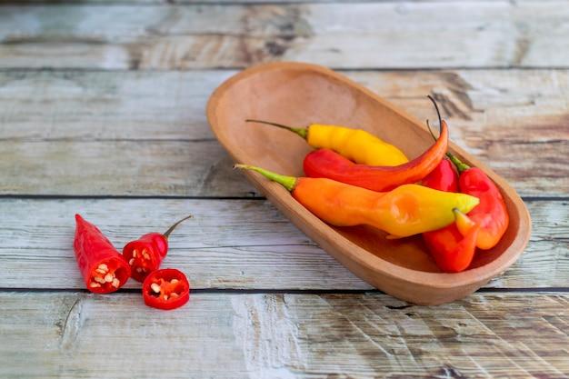 Presentazione del peperoncino rosso peruviano