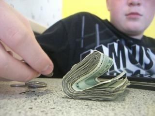 Preso soldi