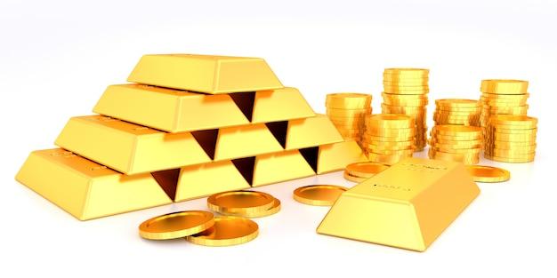 Prezzo dell'oro per il banner del sito web.