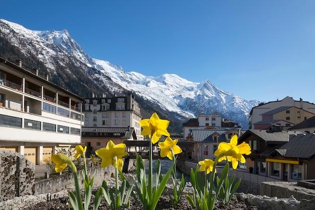 Primavera a chamonix mont blanc