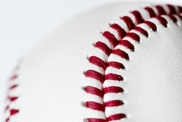 Primo piano del baseball