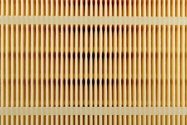 Primo piano del filtro auto