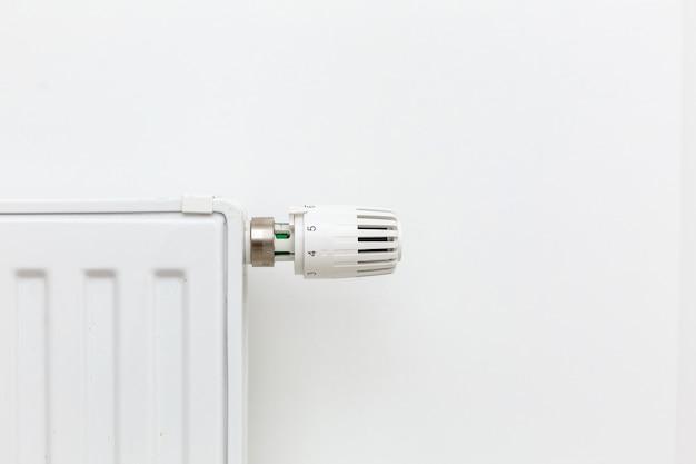 Primo piano del radiatore