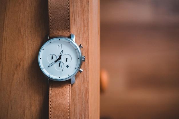 Primo piano dell'orologio da polso