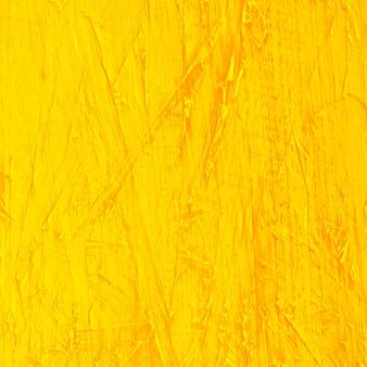 Primo piano della carta da parati gialla astratta