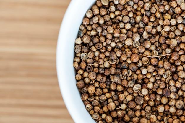 Primo piano della trama del granello di pepe