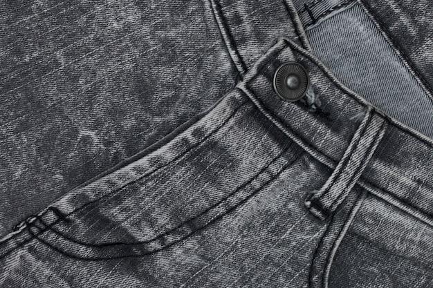 Primo piano della trama denim, sfondo jean