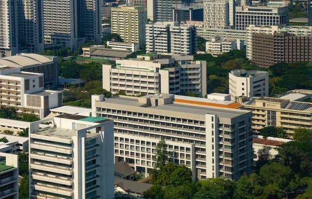 Primo piano di edifici della città