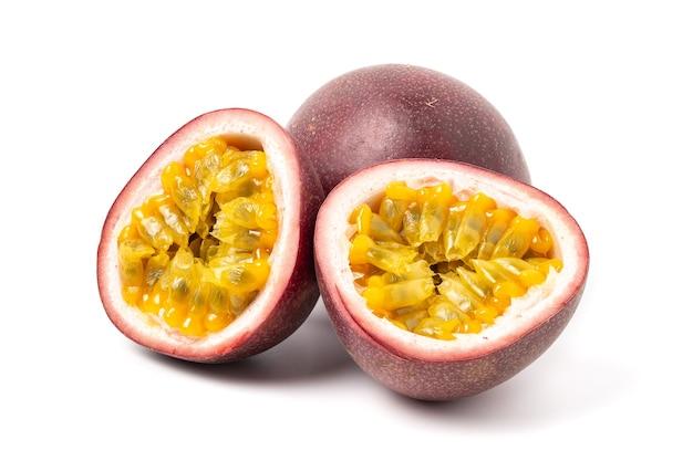 Primo piano di isolato frutto della passione