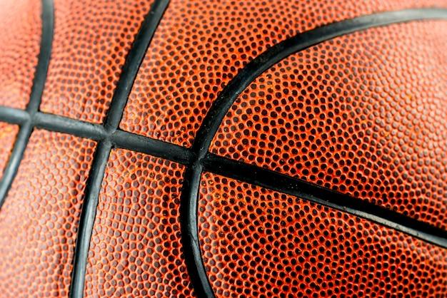 Primo piano di pallacanestro