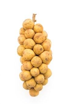 Primo piano di patate biologiche
