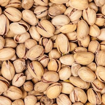 Primo piano di pistacchi
