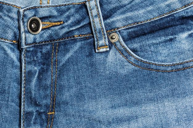 Primo piano di struttura dei jeans