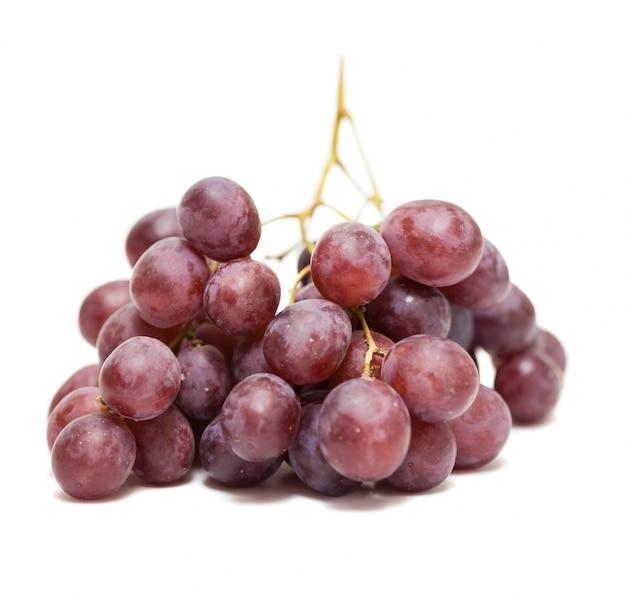 Primo piano di un grappolo d'uva