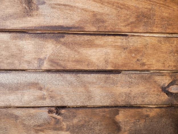 Primo piano orizzontale di legno verniciato della parete. sfondo di legno. trama di sfondo.