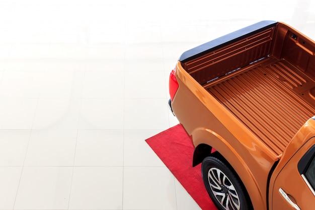 Primo piano pick-up auto (camion)