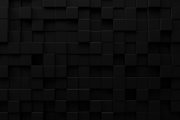 Priorità bassa astratta con il concetto scuro, rappresentazione 3d.