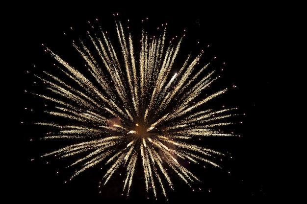 Priorità bassa astratta del fuoco d'artificio con spazio
