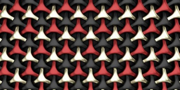 Priorità bassa astratta della carta da parati del tessuto geometrico 3d