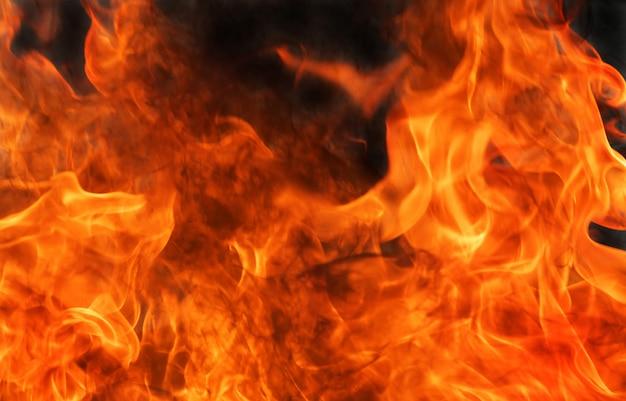 Priorità bassa astratta della fiamma del fuoco della fiammata.