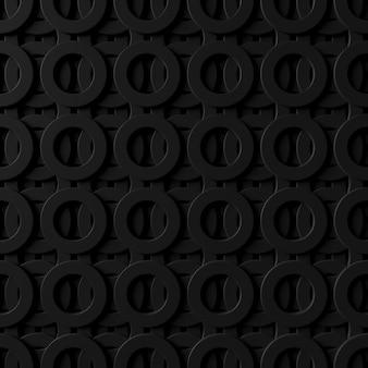 Priorità bassa astratta della parete moderna delle mattonelle. rendering 3d.
