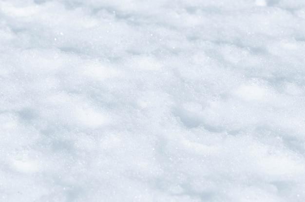 Priorità bassa astratta di struttura della neve fresca