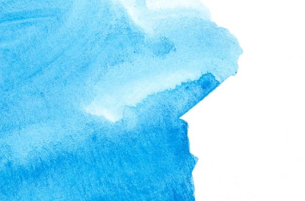 Priorità bassa astratta di struttura della vernice della mano dell'acquerello, isolata.