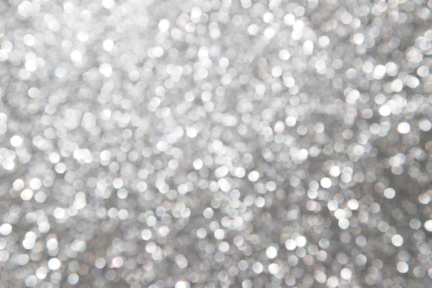 Priorità bassa d'argento astratta defocused