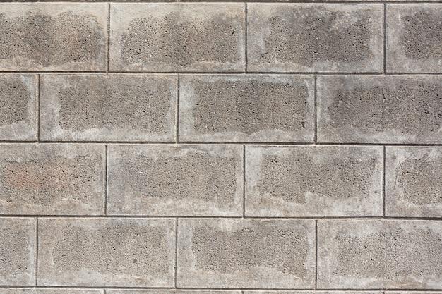 Priorità bassa del mortaio di mattoni per il design.