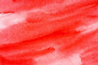 Priorità bassa dell'acquerello rosso per il design