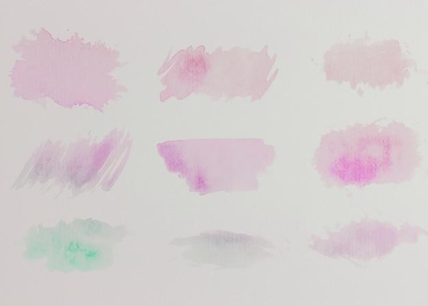 Priorità bassa dell'acquerello moderno con disegno astratto