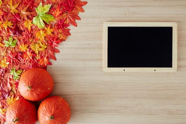 Priorità bassa di autunno di spazio libero e tempo di autunno