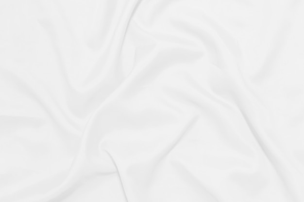 Priorità bassa di struttura coperta sgualcita bianco.