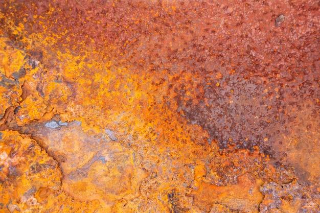 Priorità bassa di struttura del metallo arrugginito