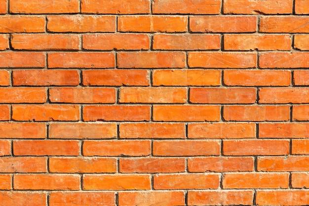 Priorità bassa di struttura del muro di mattoni rossi