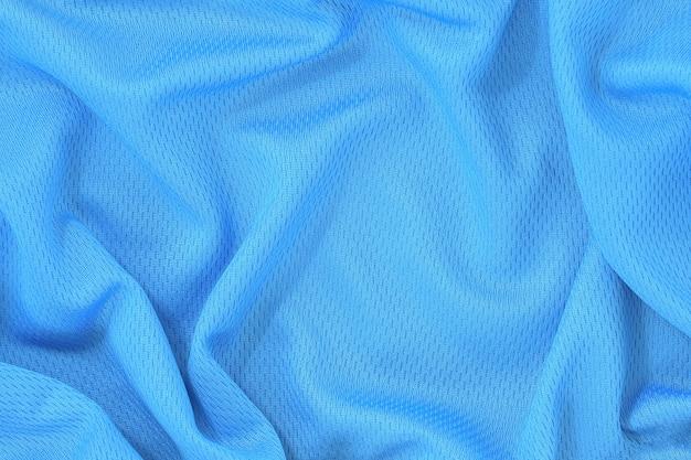 Priorità bassa di struttura del tessuto blu.