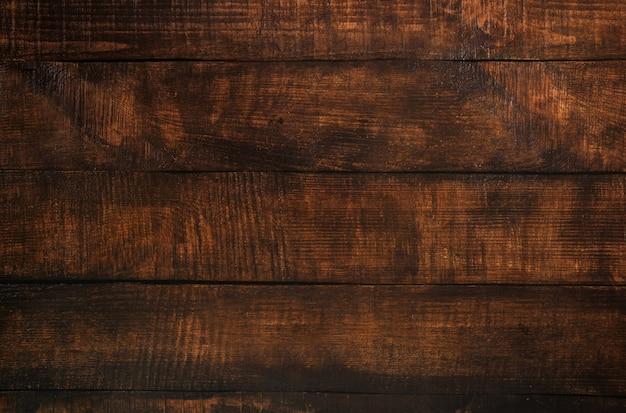 Priorità bassa di struttura della plancia di legno marrone. pavimento in legno