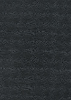 Priorità bassa di struttura di carta nera in rilievo
